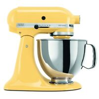 KitchenAid 5-Quart Artisan Tilt-Head Stand Mixer | Majestic Yellow