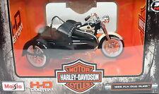 Harley Davidson 1958 FLH Duo Glide mit Seitenwagen 1:18 maisto die cast model