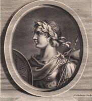 Portrait XVIIIe Otton IV de Brunswick Empereur Saint Empire Roi des Romains Otto