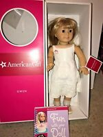 Retired American Girl Doll Gwen Thompson In Original Box Chrissa's Friend