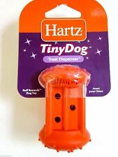 Hartz Tiny Dog Series Rubber Treat Dispenser Chew Toy  for Small Dogs Puppy Dog