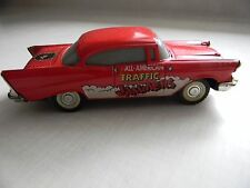 Vintage Majorette Diecast 57 Chevy Red Bel Air All American Traffic Jammers