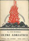 Businelli - Oltre Adriatico - Commentari della Vittoria 1928 WWI
