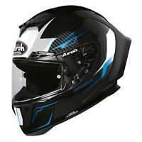 Airoh GP550S Full Face Crash Helmet For Motorcycle Motorbike - Venom Black Gloss