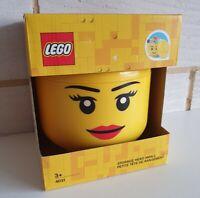 Lego 4031 Girl Storage Head Small - Brand New & Sealed