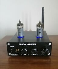 Hybrid Stereo Tube Power Amplifier & Headphone Amp with APT-X Bluetooth 50W x2