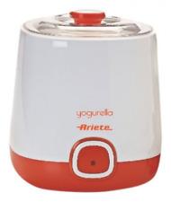Ariete 621 - Yogurtera, 20 W, Recipiente de 1 l, color blanco y naranja