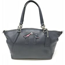 NEW COACH F28969 Kelsey w Bow Sm Leather Bag Handbag Crssbody Midnight with  Tags 62a288ed2afc5