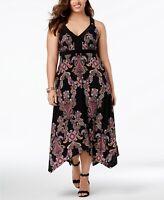 I.N.C. Plus Size Handkerchief-Hem Maxi Dress Size 3X NWT