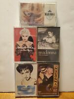 Lot Of 3 Vintage Madonna Casettes Collectible 80s Rare.