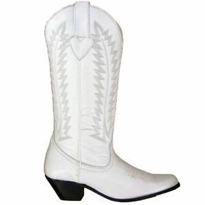 Oak Tree, White, Tall, Chalice Cowboy Boot, Size 8.5,9.5,10