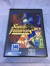 Shock Troopers Authentic SNK Neo Geo MVS Transparent Cart English Label 000238