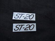REDLINE DECALS  PROLINE ST-20 BMX STICKERS VINTAGE NOS FRAME HANDLEBAR