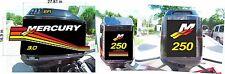 Mercury Racing Decal Kit for 2.5L 3.0l crab,efi Optimax
