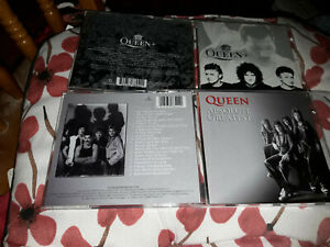 queen + greatest hits III + absolute greatest 2 cd   free uk postage