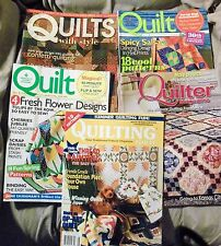 5 Quilting Magazine VG  Please see description A-101