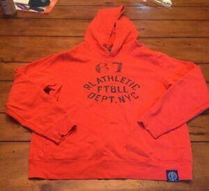 Polo Ralph Lauren Boys Hoodie Size XL (18-20) Orange
