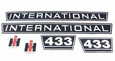 Aufklebersatz / Aufkleber / Decal Kit / Emblem passend für Case IH / IHC 433