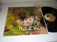 THE MUSIC OF TRINIDAD National Geographic SOCIETY Stereo NM!