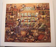 """Charles Wysocki """"Elmer and Loretta Hangin' Out"""" S/N Ltd Ed Print COA #9497/9500"""