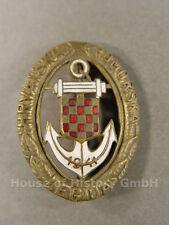 58632: Kroatien, KROATISCHES MARINEFLIEGER LEGIONSABZEICHEN, Hravatska Pomorska