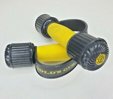 Pair Golds Gym  2.5 lbs Weights Dumbbells Heavy Hands Foam Grips Removable Ends
