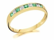 Emerald Princess Natural Fine Gemstone Rings