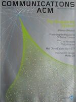 THE SINGULARITY SYSTEM August 2008 COMMUNICATIONS of The ACM Magazine