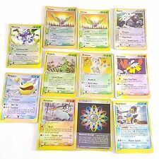Pokemon TCG Card Ruby & Sapphire Holo Rare x 11 Weezing Sceptile Aggron Dustox