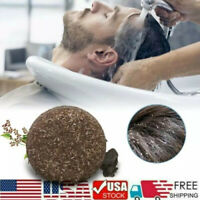 Organic Grey Reverse Shampoo Bar - Essence Hair Darkening Shampoo Soap Cleaner &