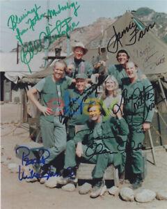 MASH Cast Photo 8x10 Autographed Signed reprint