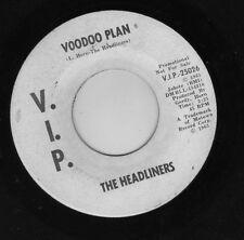 "detroit garage psych ""VOODOO PLAN"" the HEADLINERS on VIP - MOTOWN RARITY PROMO"