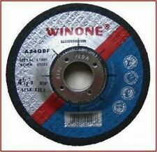 """115mm x 3mm METAL CUTTING DISC 10pc FOR 4 1/2"""" ANGLE GRINDERS FREE POSTAGE"""