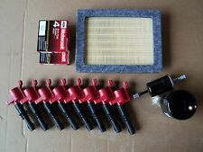 COMPLETE TUNE UP KIT 8+RED COILS REF#DG511 8+ SP515/SP546 OIL,AIR,GAS FILTER NEW