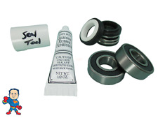 Seal & 2 Bearing Pump Parts Kit Fits Most Vico Sta-Rite Spa Hot Tub Pumps Video