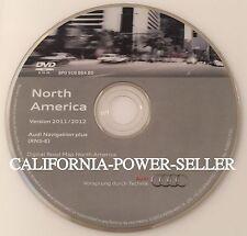 AUDI Navigation plus System DVD ROM Version 2011/2012 North America RNS-E OEM