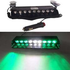 Truck Warning Emergency Light 9 LED Strobe Bar Beacon Hazard Flash Green White