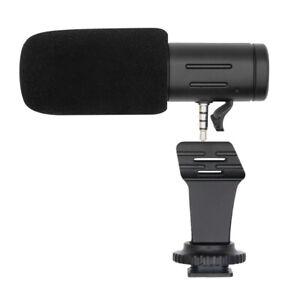 Mamen Vlogging Camera External Stereo Mobile Phone Microphone MIC-06