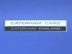 Caterham Rear Wing Badge 76233