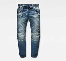 G-Star RAW 5620 3D Low Tapered Deconstructed Denim Medium Aged Jeans W34 L32 NEW