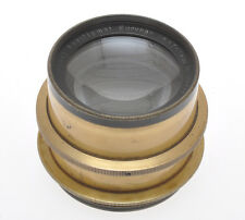 Rodenstock old brass lens 300mm F:6.8 Eurynar with iris diaphragm c.1925