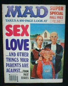 Mad Magazine : Mad Super Special - Fall 1983 - Alfred E Neuman - Vintage - RARE