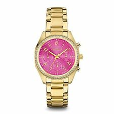 Caravelle New York Women's 44L168 Crystal Chronograph Watch