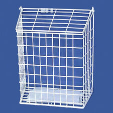 White Internal Letter Cage and Mail Post Box Catcher ( please check size)