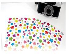 6 Sheet x Shiny Star Foil Surface Sticker for DIY Album Decor Scrapbook