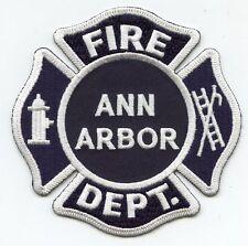 ANN ARBOR MICHIGAN MI FIRE PATCH