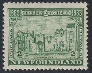 Newfoundland # 213 Mint Never Hinged Very Fine Single