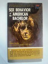 Sex Behavior of the American Bachelor: Winski Genell 1965 Sleaze/GGA/Fiction E23