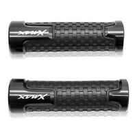 New Black With XMAX logo handlebar grips For yamaha X-max 300 Xmax 125 250 400