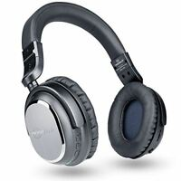 Naztech i9 BT Wireless Active Noise Cancelling Headphone w/Airplane Adapter &Mic